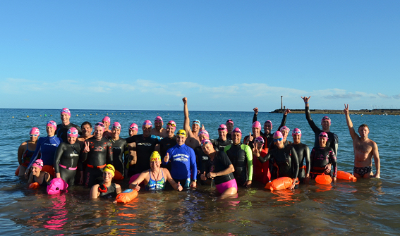 total immersion open water camp