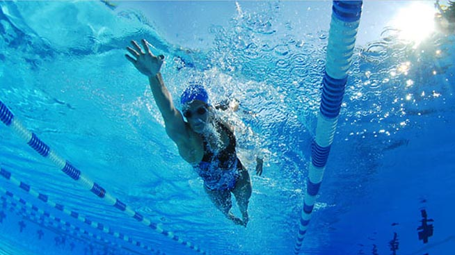 swim fast