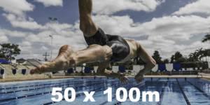 Swim goal 1: 50 x 100m The Swimet