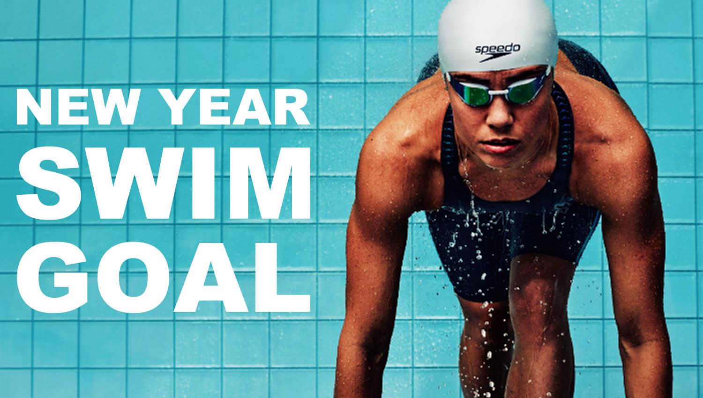 New year swim goal The Swimet